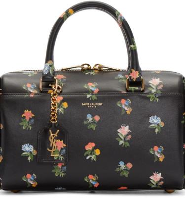 ysl clutch purse - anita mini flat suede shoulder bag with fringe, black